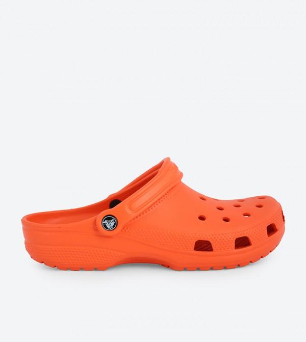 Comfortable Classic Clogs - Orange