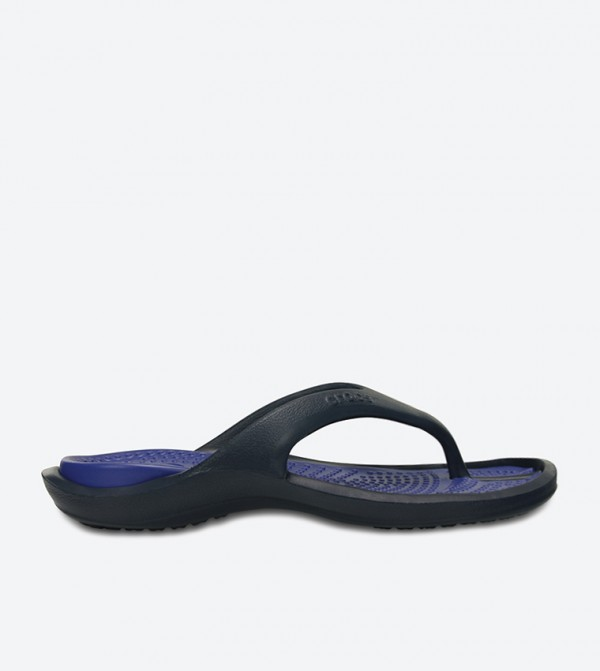 Athens Flip Flops - Navy