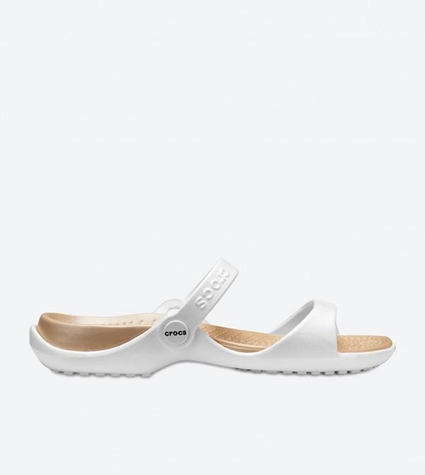 Cleo Sandals - White