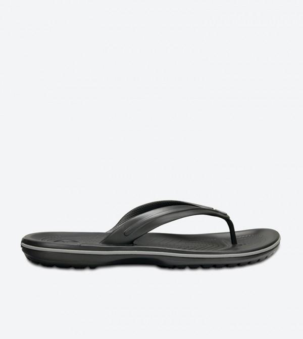 Crocband Flip Flops - Dark Grey