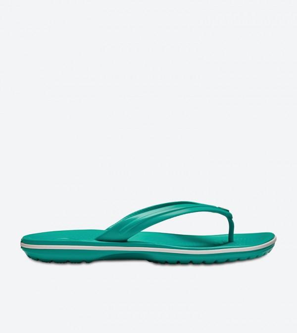 Crocband Flip Flops - Green 11033-38O