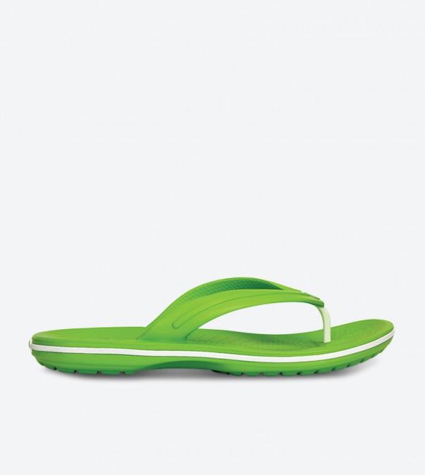 Crocband Flip Flops - Green 11033-394