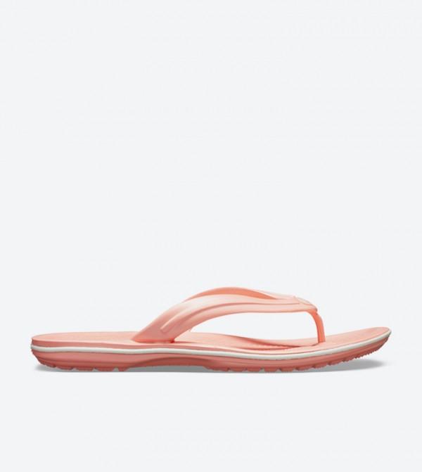 Crocband Round Toe Flip Flops - Pink 11033-6KP