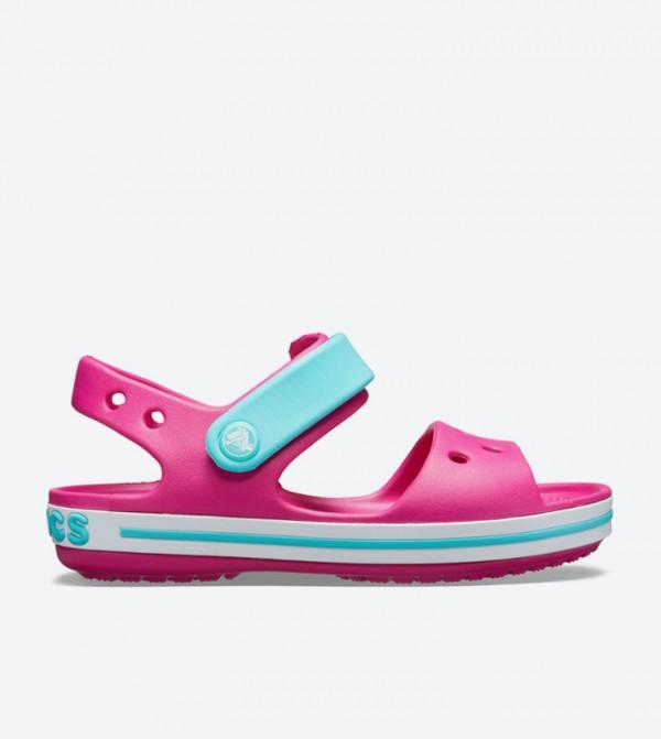 Crocband Strap Closure Sandals - Pink 12856-6LH