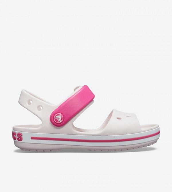 Crocband Strap Closure Sandals - Light Pink 12856-6PV
