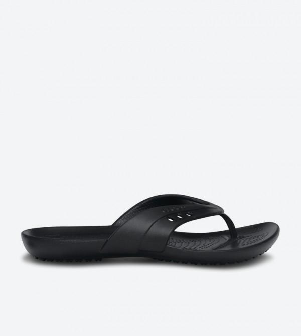 Kadee Round Toe Flip Flops - Black 14177-001
