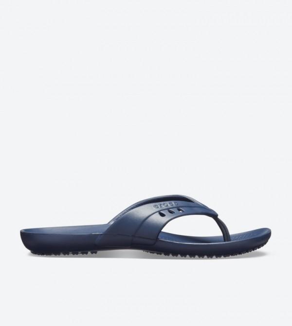 Kadee Round Toe Flip Flops - Navy 14177-410