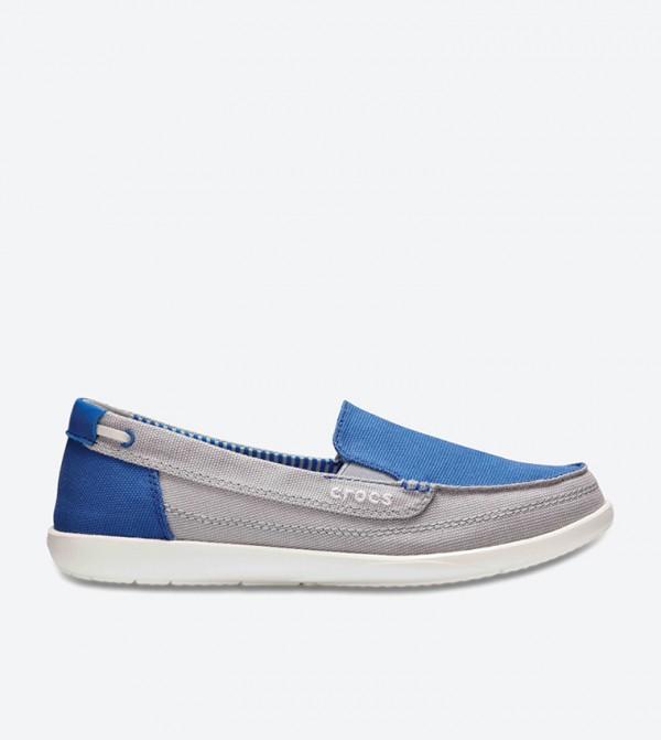 Walu Canvas Loafers - Blue