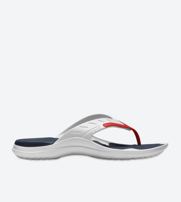 Modi Sport Flip Flops - White 202636-1C3
