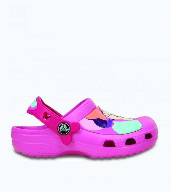 Cc Minnie Colorblock Clog - Pink
