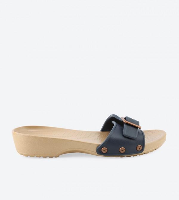 Sarah Navy Sandals