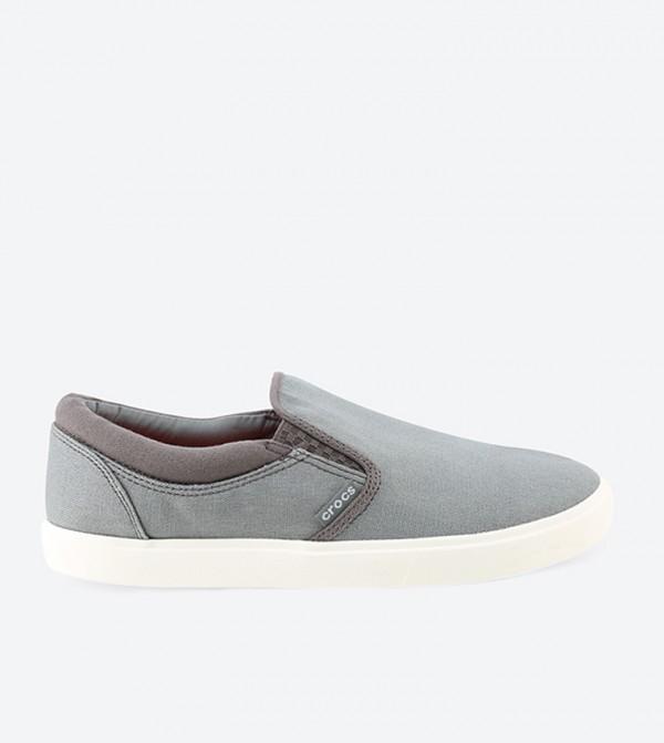 Citilane Grey Slip-Ons