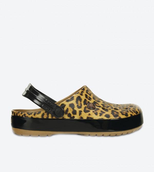 Crocband Leopard II Clogs - Camel 203681-266