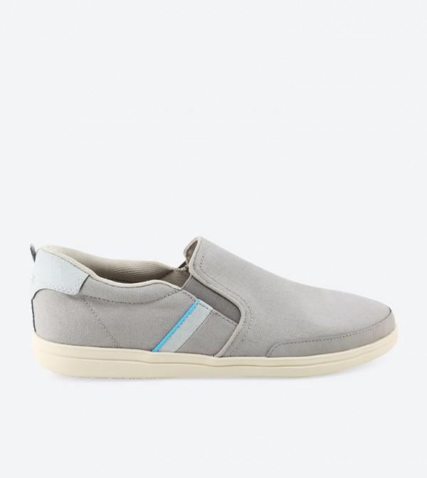 Torino Slip-Ons - Grey
