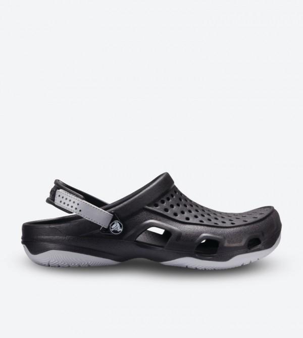Swiftwater Deck Velcro Closure Clog - Black 203981-02G