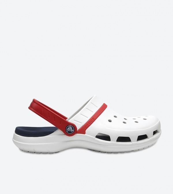 Modi Sport Clog Sandals - White 204143-1C3