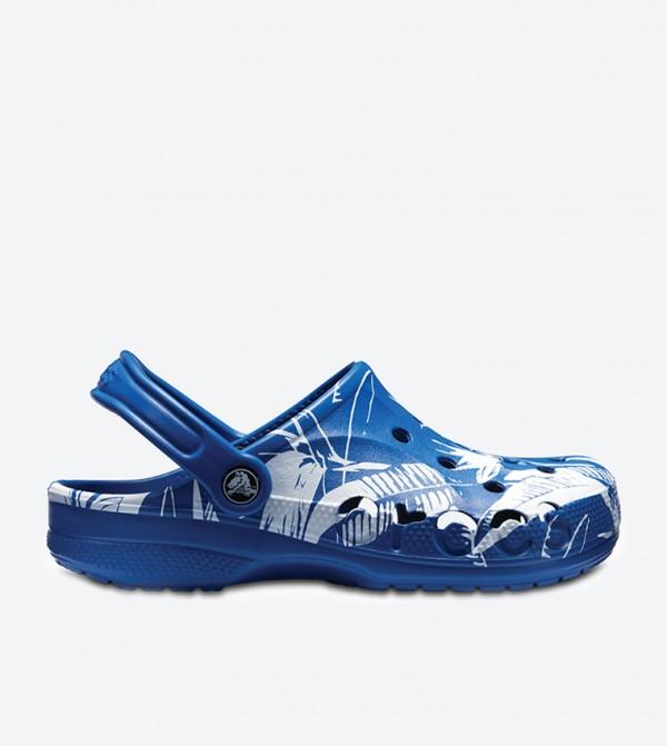 Baya Graphic Clogs - Blue