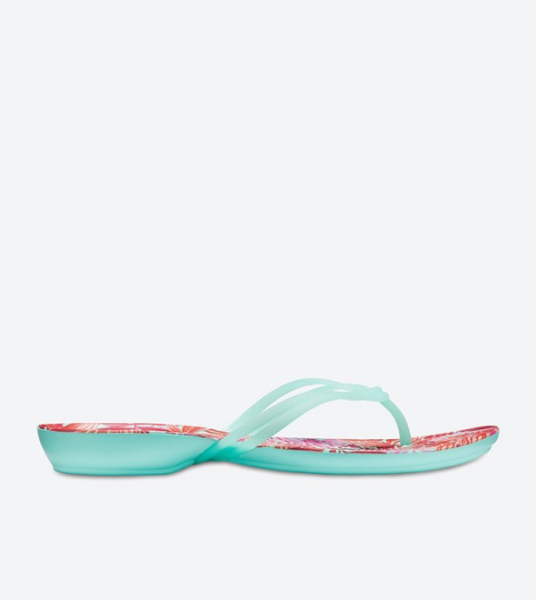 Isabella Graphic Flip Flops - Multi 204196-31O