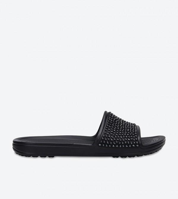 Sloane Embellished Slides - Black 204691-060