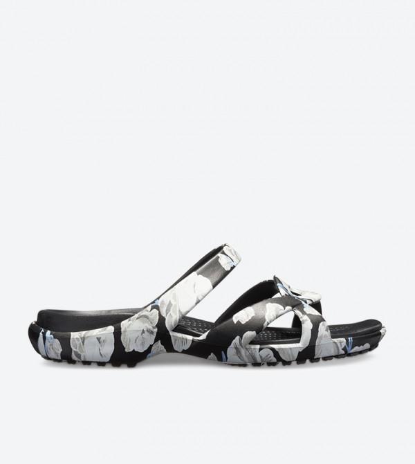Meleen Twist Graphic Sandals - Black 204703-6OS