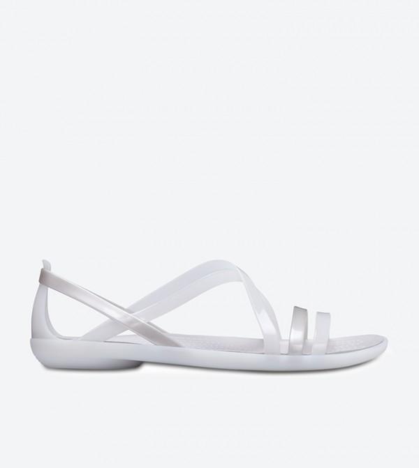 Isabella Strappy Sandals - White
