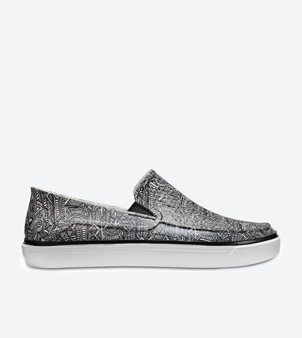 CitiLane Roka Graphic Loafers - Black