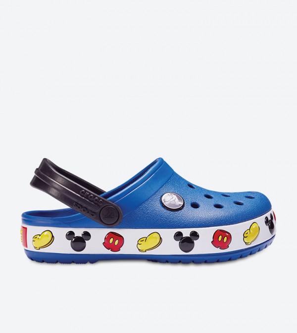Crocband Mickey Clogs - Blue 204992-4GX