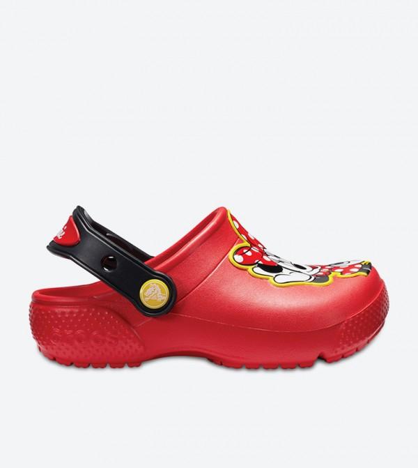 Fun Lab Minnie Clogs - Red 204995-8C1