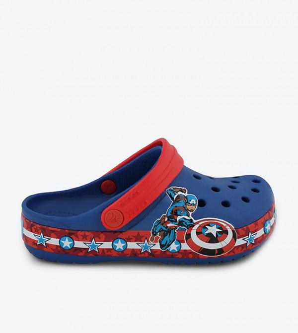 CB FL Captain America Clogs - Blue
