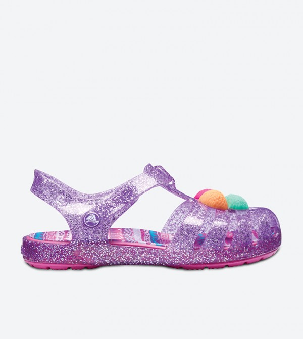 Isabella Novelty Sandals - Purple