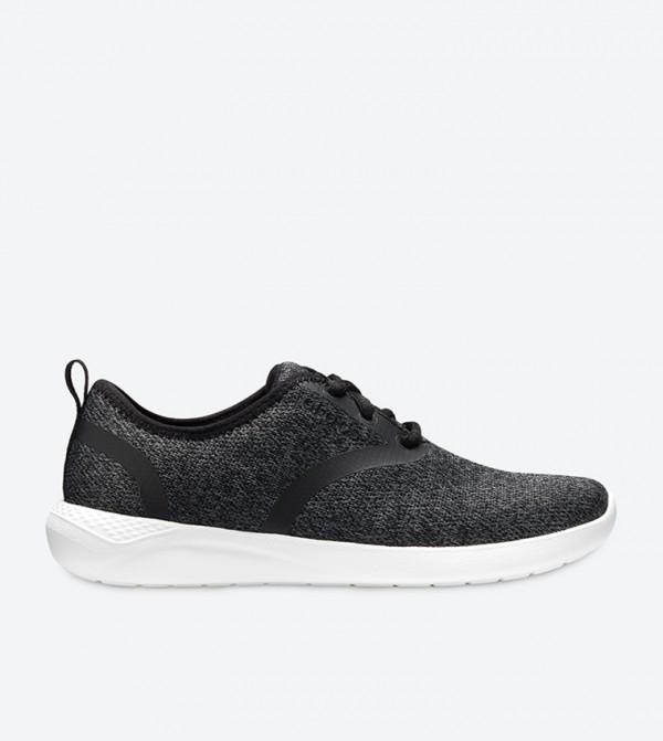 LiteRide Grindle Pattern Sneakers - Black