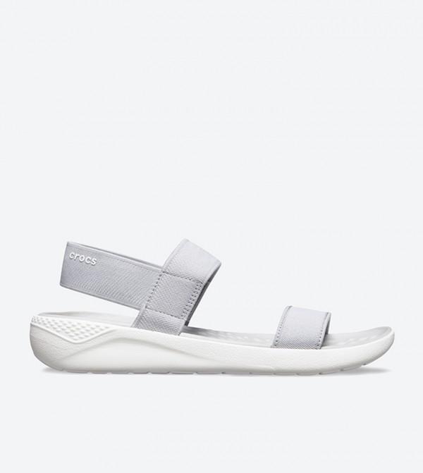 LiteRide Open Toe Sandals - Grey