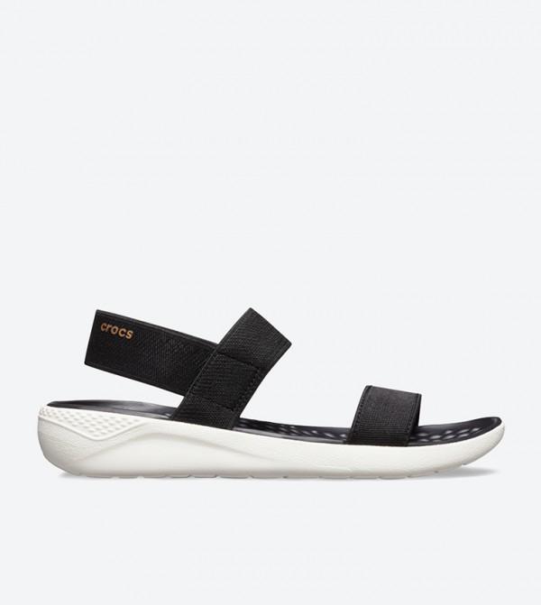 LiteRide Open Toe Sandals - Black