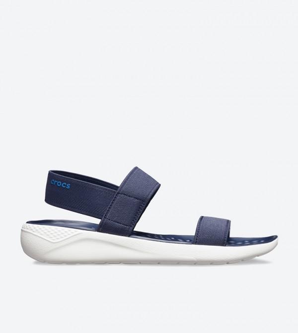 LiteRide Open Toe Sandals - Navy