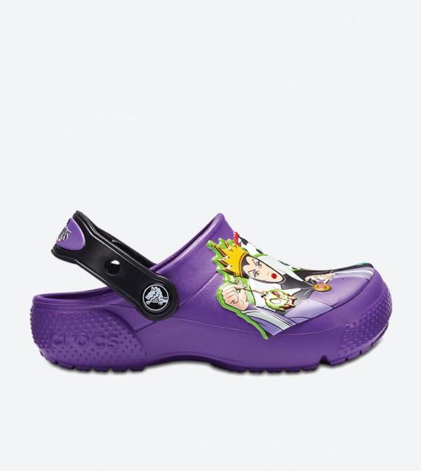 Crocs FL Disney Villain Clog Sandals - Purple 205114-57H