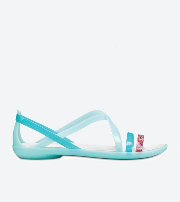 Isabella Strappy Sandals - Green