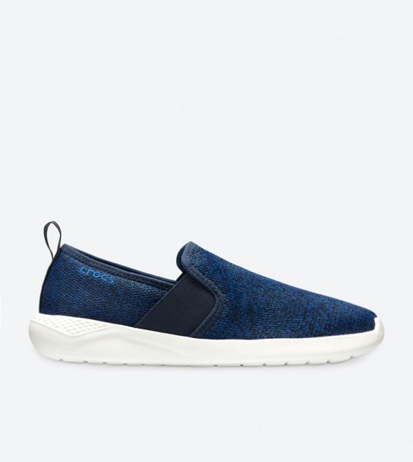 LiteRide Grindle Pattern Slip-Ons - Blue