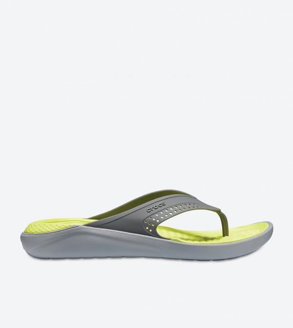 LiteRide Two Tone Flip Flops - Grey