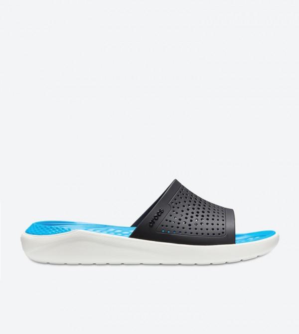 LiteRide Open Toe Slides - Blue