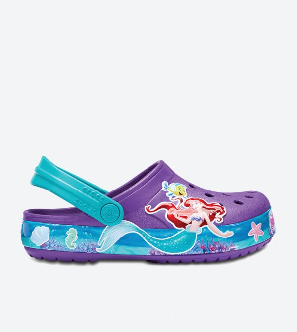 CB Princess Ariel Clog Sandals - Purple 205213-57H