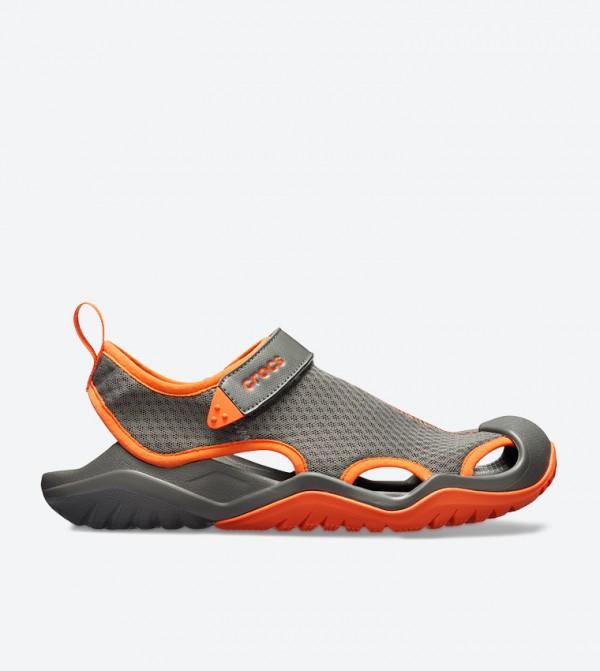 Swiftwater Mesh Deck Sandals - Grey 205289-0EK