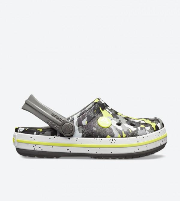 Crocband Camo Printed Clog - Multi 205301-0ED