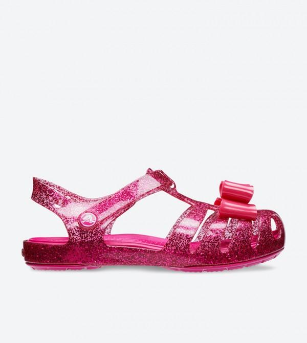 Crocs Isabella Bow Details Sandals - Pink 205382-6X0