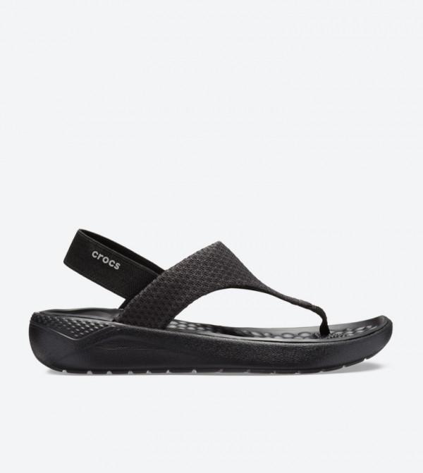 Literide Mesh Slingback Sandals - Black 205477-060