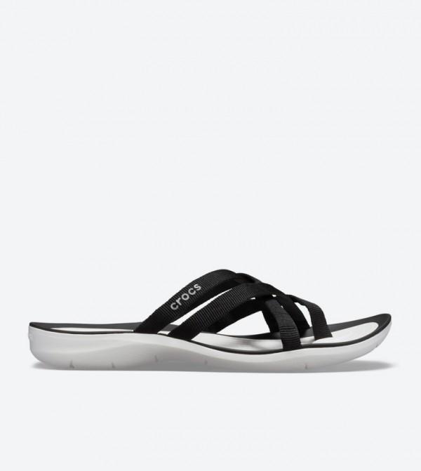 Swiftwater Webbing Strappy Flip Flops - Black 205479-066