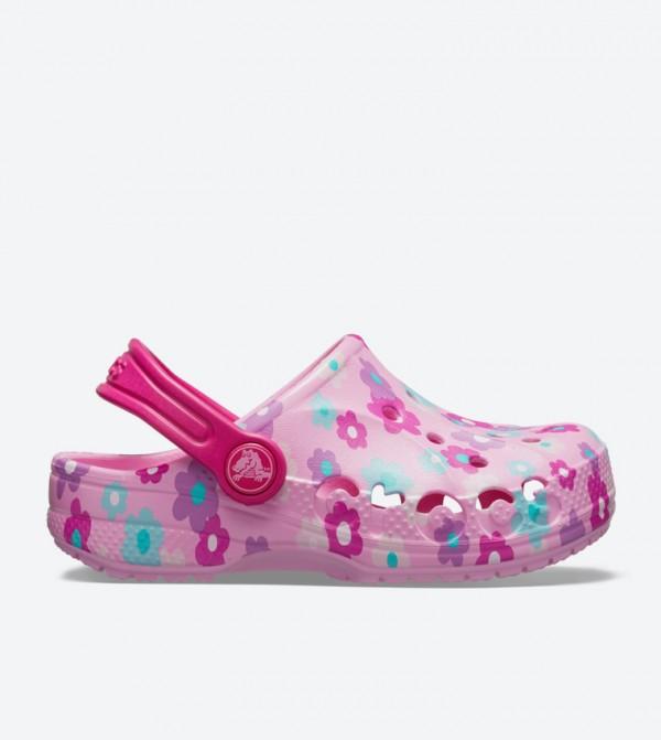Baya Seasonal Graphic Clogs - Pink 205484-6I2