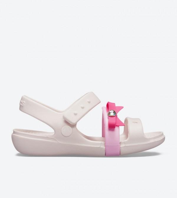 Keeley Charm Closure Sandals - Light Pink 205486-6PI
