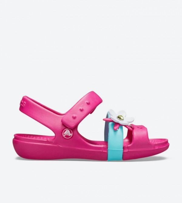 Keeley Charm Closure Sandals - Pink 205486-6X0