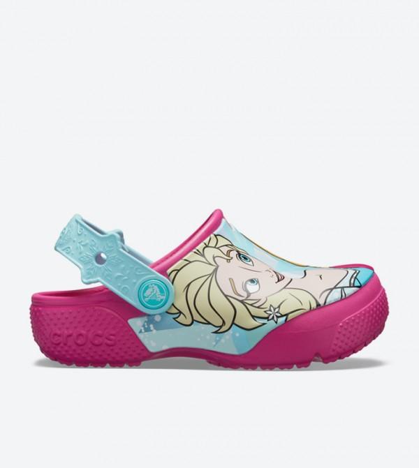Fun Lab Frozen Anna & Elsa Clogs - Pink 205492-670