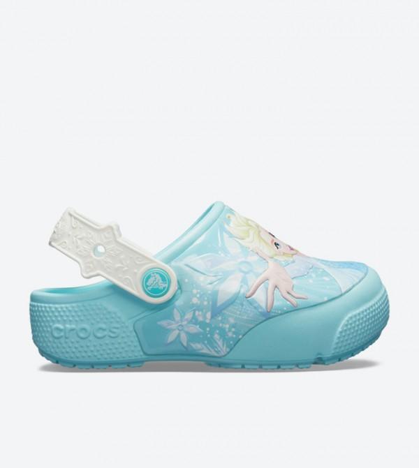 Fun Lab Frozen Elsa Light Clogs - Blue 205495-4O9